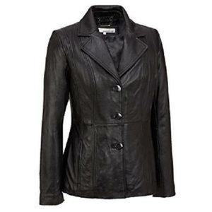 NWOT Small Women's IZZI GENUINE LEATHER Jacket